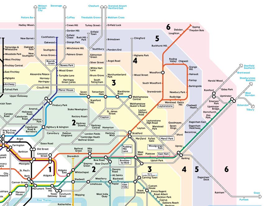 Cartina Londra Con Monumenti.Piantina Metropolitana Di Londra