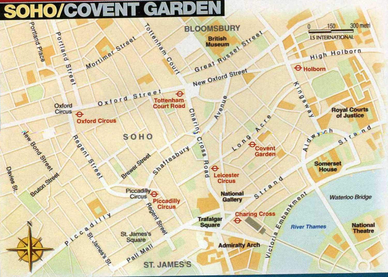 Zone Di Londra Cartina.Le Zone Centrali Di Londra